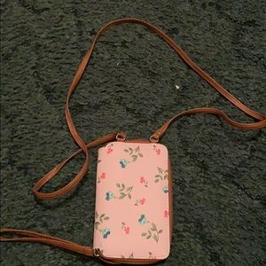Bags - Floral Crossbody wallet